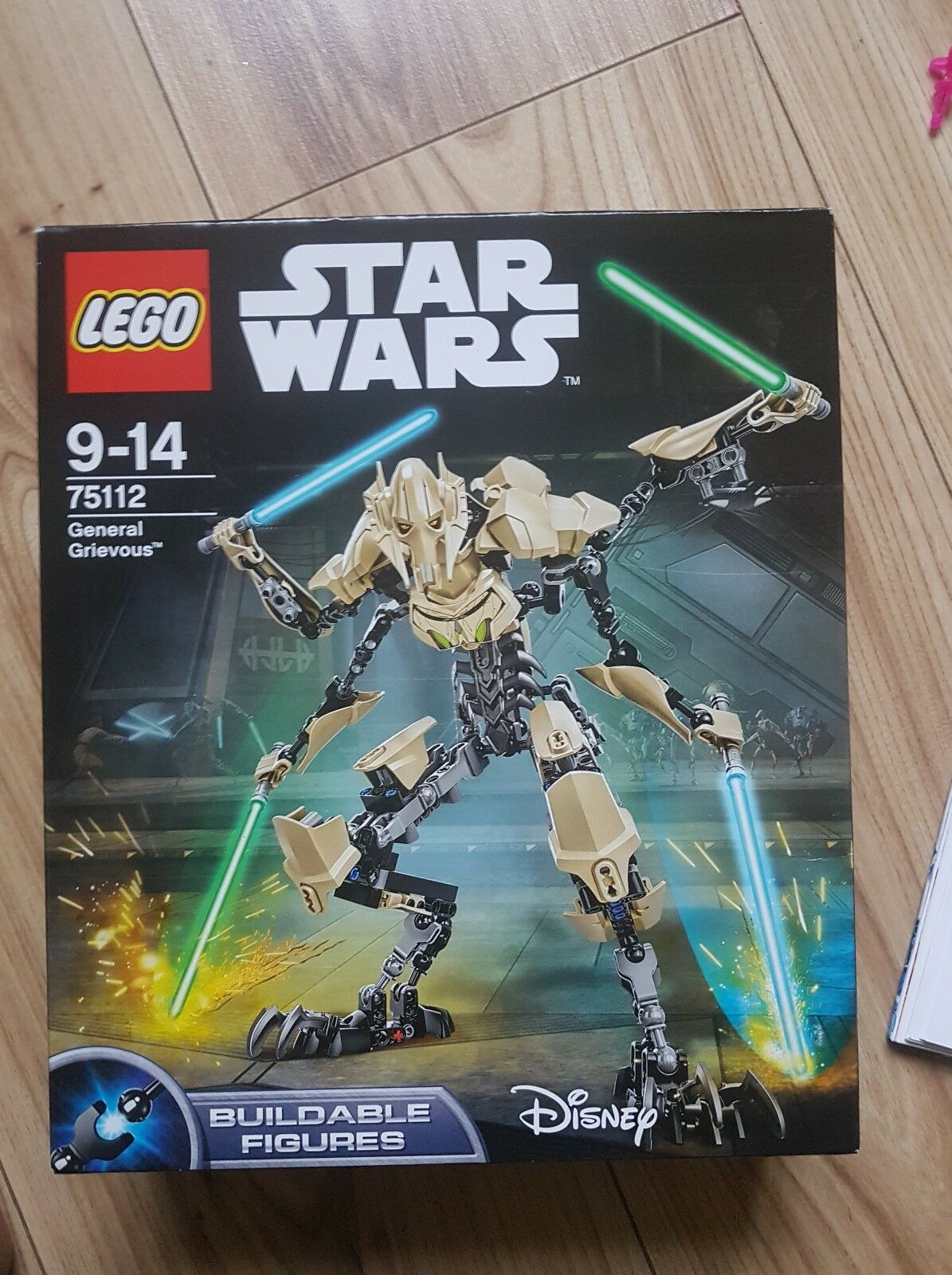BNIB sealed Lego Star Wars Buildable 75112 General Grievous