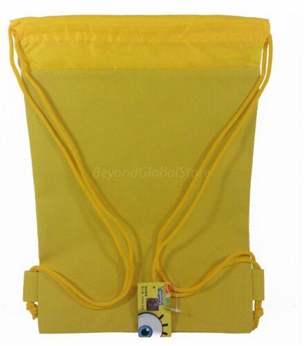 New Disney Frozen Children Drawstring backpack School Sport Gym Tote Bags