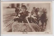 AK Ben Hur, Ramon Novarro, Pferdewagen