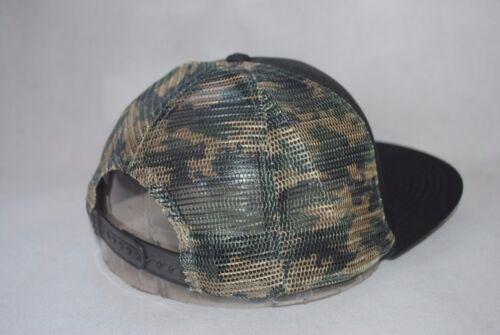 New Roxy Women/'s Girls/' Mesh Hat Flat Brim Snapback Cap Adjustable OSFM