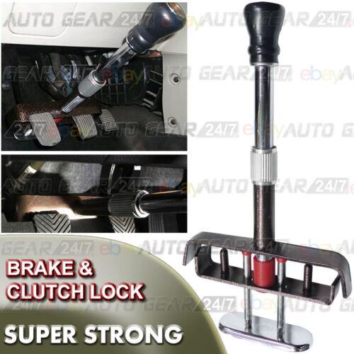 Car Van Brake Clutch Pedal Anti Theft Adjustable Strong Security Clamp Lock