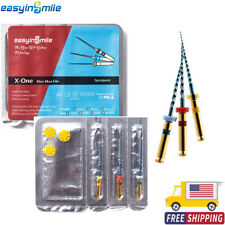 Easyinsmile Dental Endodontic Rotary Files X3 One Blue Max For Root Canal Clean
