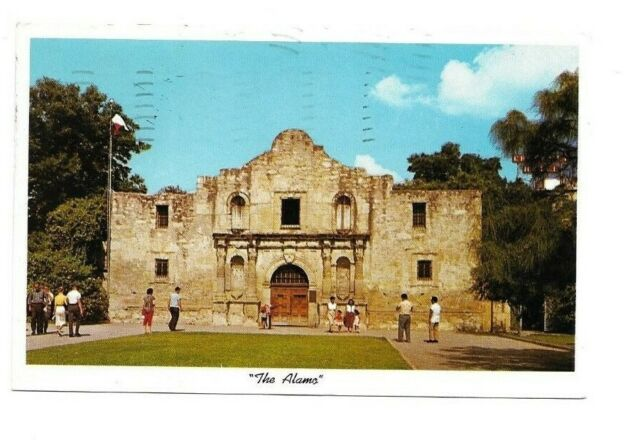 The Alamo San Antonio Texax TX 1950's postcard posted ...