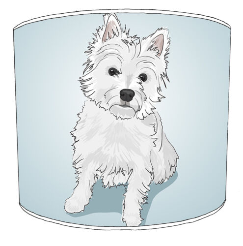 West Highland Terrier Lampshades Ideal To Match West Highland Terrier Cushions.