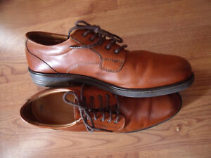 Bostonian-Strada-Mens-Size-13-M-Brown-Leather-Upper-Oxfords-24713-Made-Italy