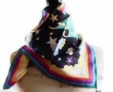 Gucci Women's 340027 Sareya Rainbow Horses Stars GG Twill Neck Scarf