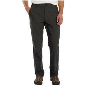 Union-Bay-UB-Tech-Men-039-s-Comfort-Waist-Chino-Pants-50-UPF-Grey-36x34-Expandable