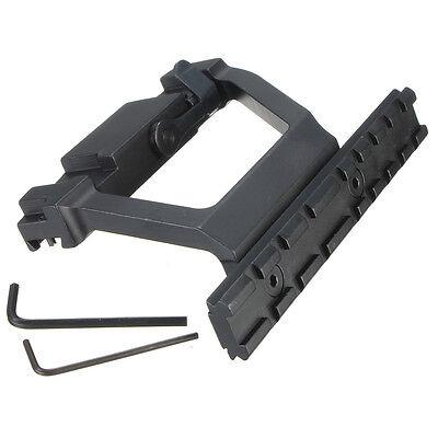 20mm Side Rail QD Scope Mount For SVD Dragunov Saiga Kalashnikov Caza
