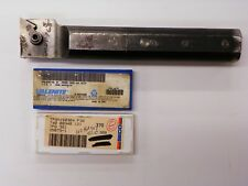 Kennametal Wb 41706 1 14 Boring Bar With Tpmt 322 1a Carbide Inserts C164