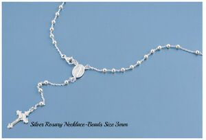 Sterling-Silver-925-ROSARY-NECKLACE-MADE-IN-ITALY-3MM-LENGTH-18-20-22-24-26-amp-28