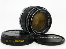 OLYMPUS OM G ZUIKO AUTO-S 50MM F1.4 FAST PRIME LENS *EXCELLENT CONDITION*