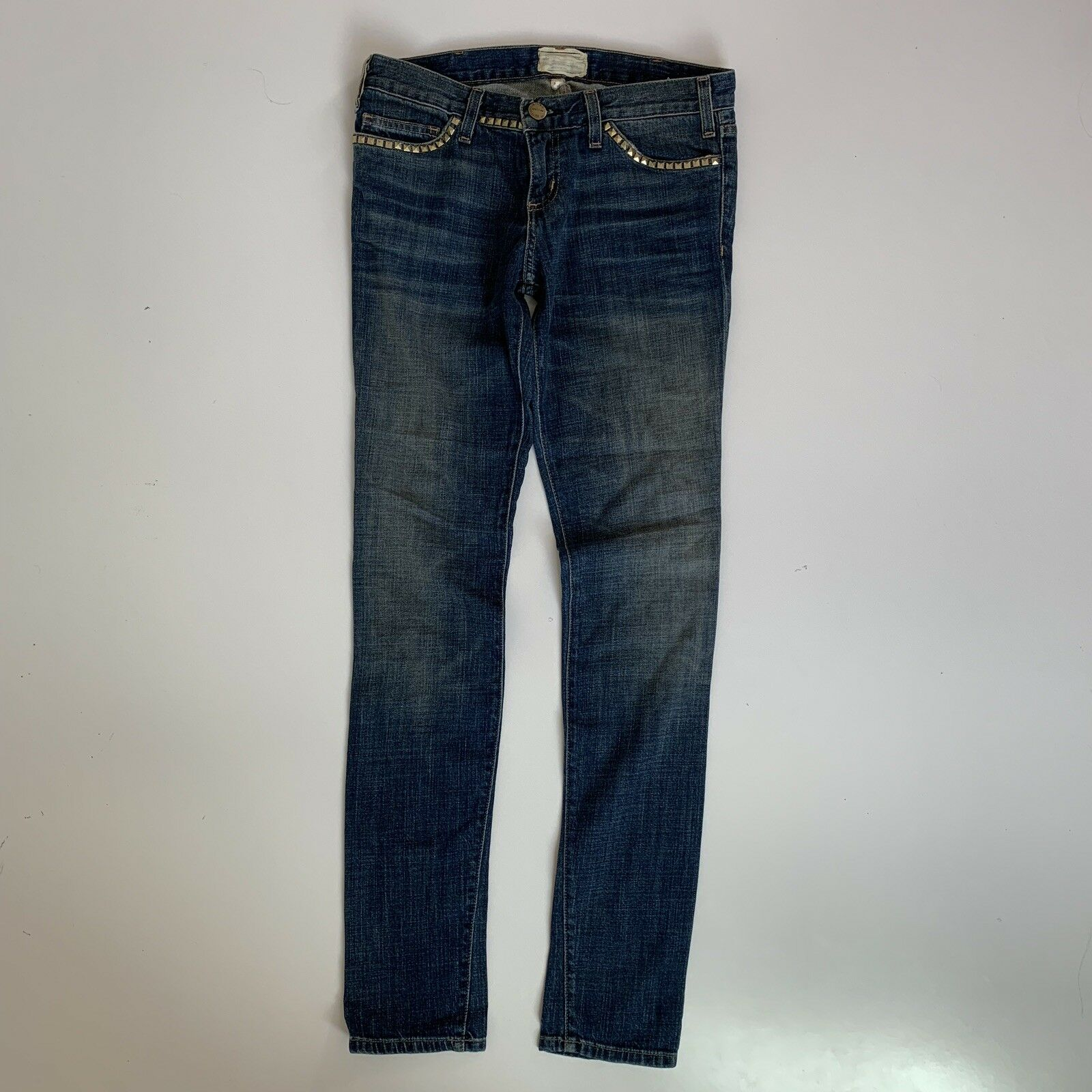 Current Elliott Jeans Size 27 The Skinny Brass Studded