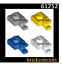 LEGO 61252 Plate Modified 1 x 1 with Clip HorizontalVarious Colours