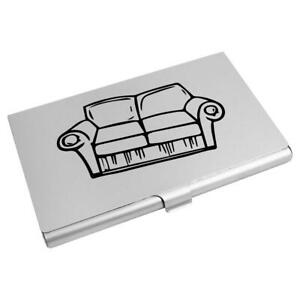 'Home Sofa' Business Card Holder / Credit Card Wallet (CH00014604)