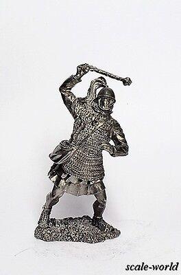 Tin soldier, figure.  Roman battle 54 mm