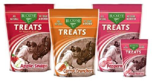 Buckeye Horse Pony Mini Training Flavor Nuggets Treats All Natural No Sugar 4lbs