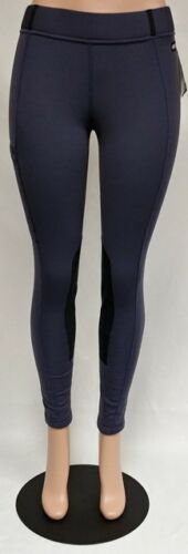 Kerrits Ladies Winter Powerstretch Fleece Pocket Tights Tan Ebony or Black