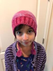 8b9c5fc95b5 The North Face Girls Youth Flecka Earflap Beanie Hat Medium NWT MSRP ...