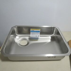Image Is Loading Moen 1800 Series G18195l Single Bowl Kitchen Sink