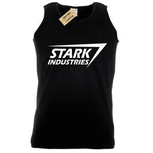STARK-INDUSTRIES-MENS-TANK-TOP-TONY-NERD-MARVEL-ARC-FILM-GEEK-COMIC-SHIELD-VEST