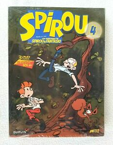 SPIROU-4-3-DVDs-13-Capitulos-DUPUIS-ESPANOL-amp-FRANCES-witt-SUBS-NEW-SEALED