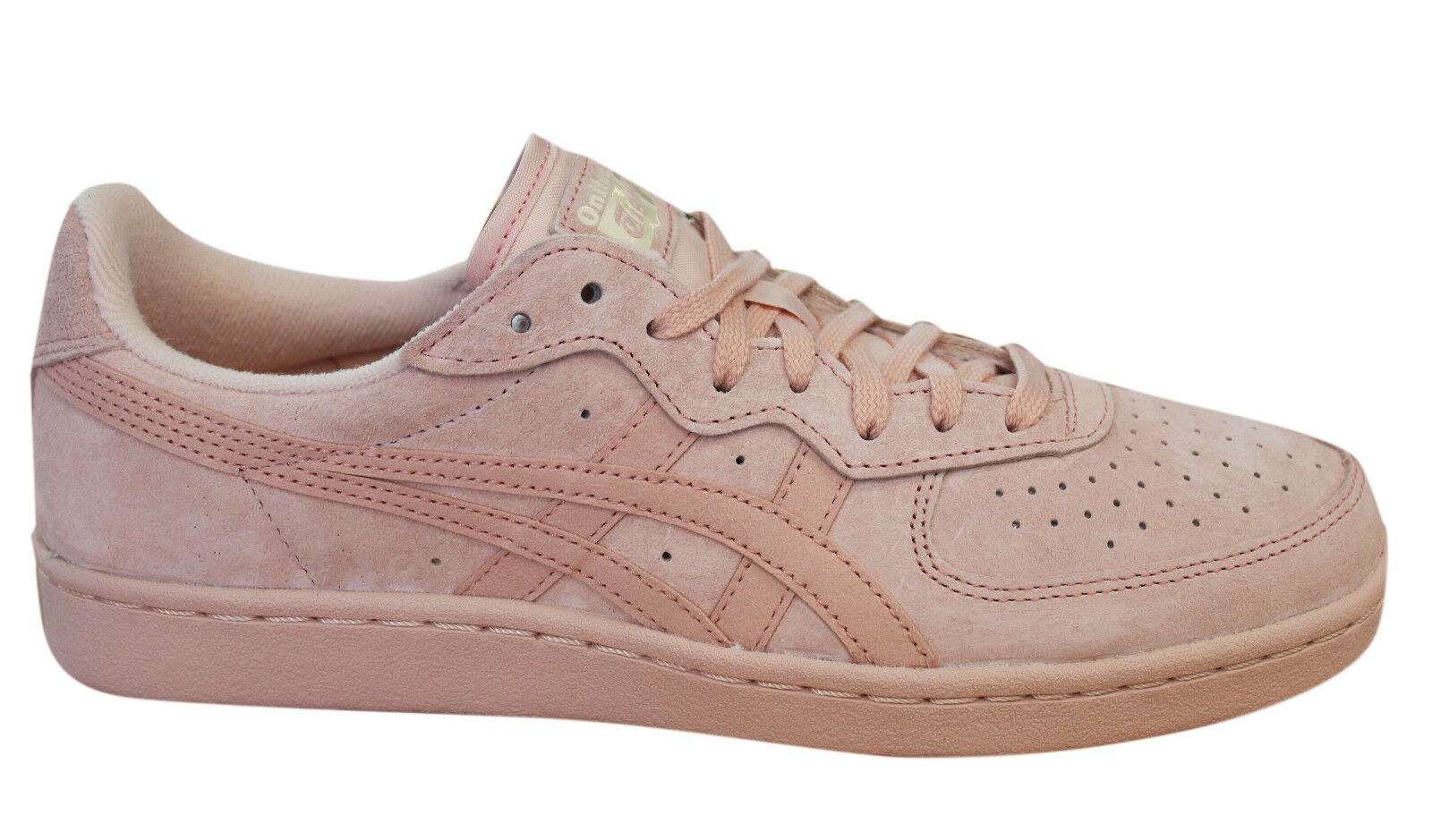 Asics Onitsuka Tiger GSM Lace Up D5K1L Unisex Trainers Pink Suede D5K1L Up 1717 U45 301ed9