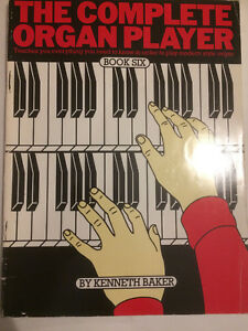 034-THE-COMPLETE-ORGAN-PLAYER-034-book-six-by-KENNETH-BAKER