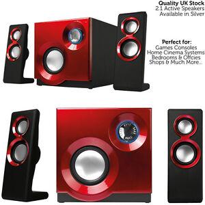qualite-2-1-Compact-Surround-son-Gaming-Haut-Parleur-systeme-PC