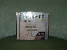 Magellan MapSend Topo for the US on CD-ROM