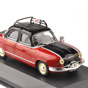 1-43-Classic-Taxi-Car-Model-IXO-Paris-1953-Diecast-Vehicle-Toy-Gift-Collectible