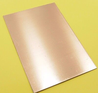 Double Sided Copper Clad For PCB //Epoxy Glass Fibre//Thickness:1.6mm 100x160mm