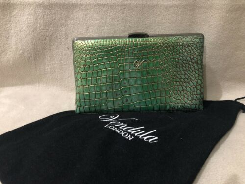 Vendula avec London serpent vert imprimᄄᆭ par Pochette SzMGjUqpLV