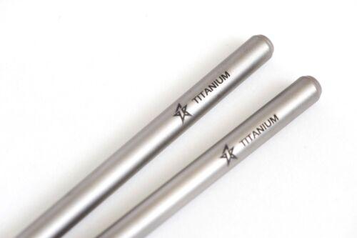CH411 Titanium Chopstick With colored Aluminium case