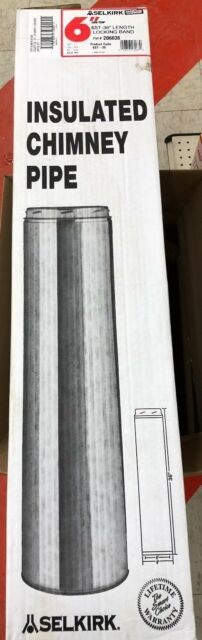 Selkirk Sure Temp Stainless Steel Insulated Chimney Pipe