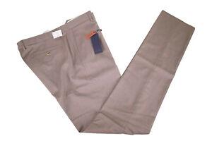 Zanella-NWT-Flat-Front-Dress-Pants-Size-38-in-Dark-Taupe-Noah