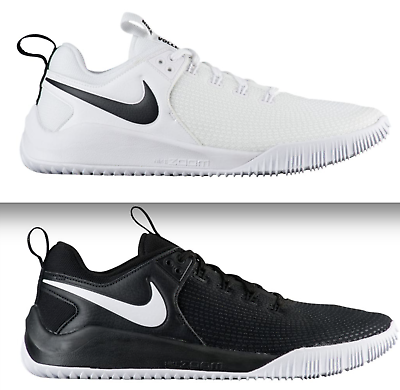 NEW NIKE ZOOM HYPERACE 2 VOLLEYBALL WOMEN SHOES SNEAKERS BLACK & WHITE ALL SIZES | eBay