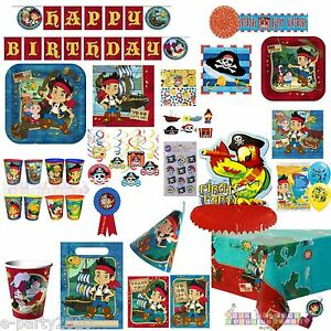 JAKE-and-the-NEVERLAND-PIRATES-Birthday-PARTY-Supplies-Create-your-own-set