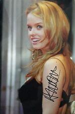 Alice Eve HAND SIGNED Autograph Image E 12x8 Photo COA AFTAL UACC Dealer