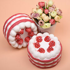 10CM Jumbo Squishy Strawberry Cake Scented Super Slow Rising Kids Toy Cute