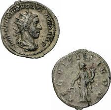 Volusianus antoninian Roma 253 aeqvitas avgg aequitas báscula cuerno de la abundancia Ric 166-S