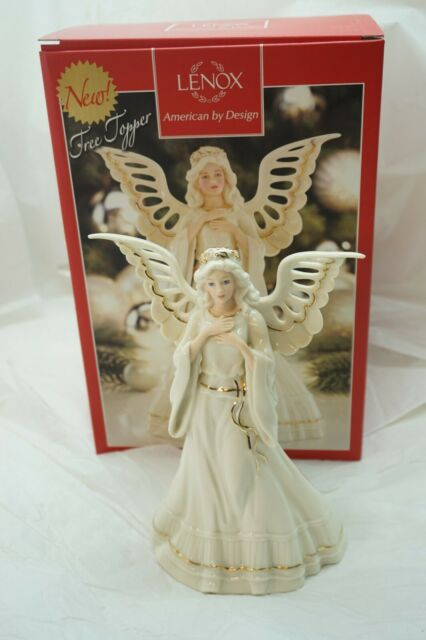 Lenox Christmas Angelic Visions Adoring Angel Tree Topper