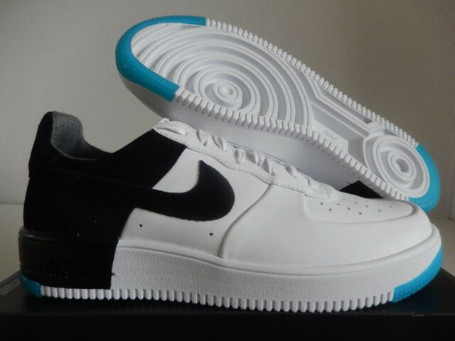 pretty nice c2814 75117 NIKE AIR FORCE 1 ULTRAFORCE N7 WHITE-BLACK-DARK TURQUOISE SZ 10  873309