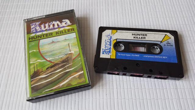 MSX Game - Hunter Killer - Kuma