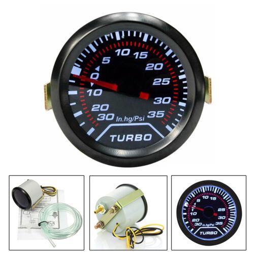 Universal Car DC 12V 52mm Bar Led Light Pressure Turbo Boost Gauge Meter Lu01