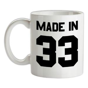 Made-in-039-33-Mug-86th-Compleanno-1933-Regalo-Regalo-86-Te-Caffe