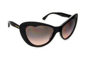 New-Authentic-Miu-Miu-Sunglasses-MU-040-2AU-1FO-in-Tortoise-for-Women-57Gradient