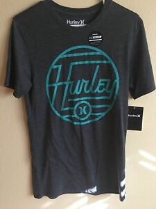 936b02e4 New Hurley Men's S Nike Dri Fit Wavelength Tee shirt T Premium Small ...
