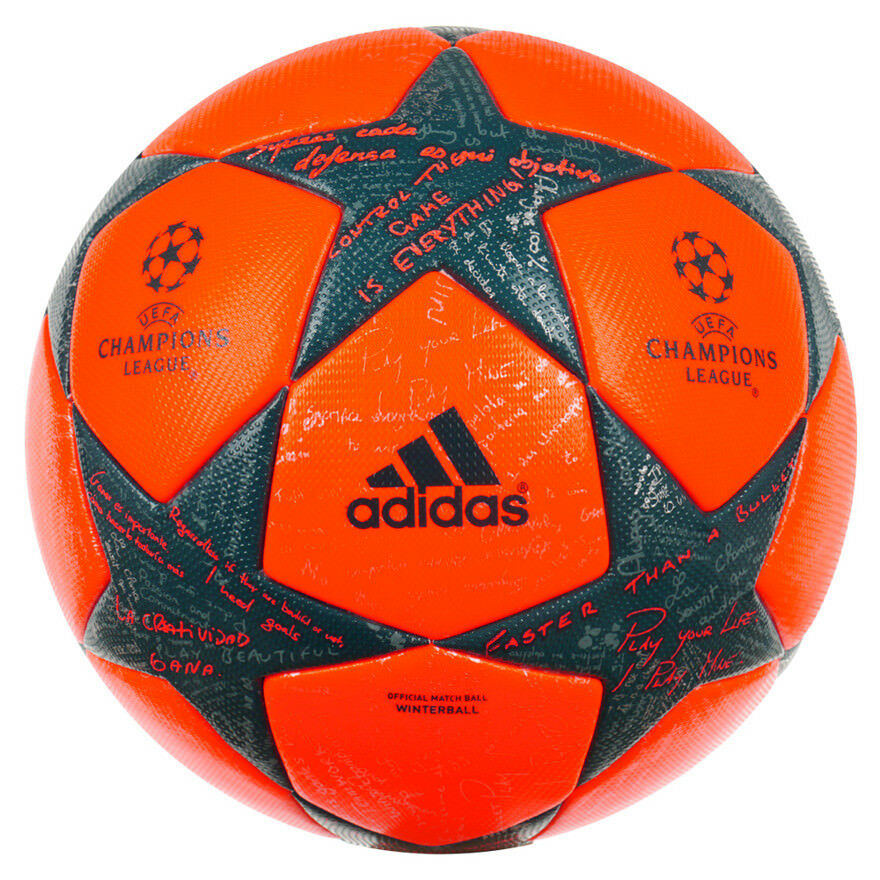Football adidas UCL Finale 16 Winter Official Match Ball Ball Ball Größe 5 ee9165