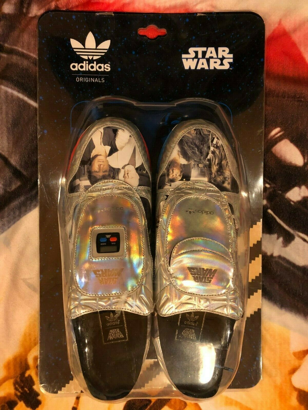 Star Wars Adidas Originals shoes Memorable Moments Micropacers Size 10.5