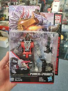 Transformers Generations Power of the Primes Deluxe Class Dinobot Slug NEW WEAR